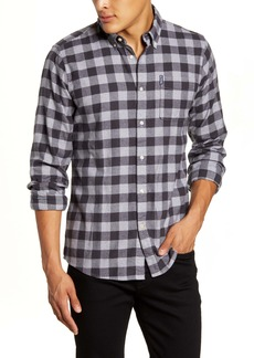 Barbour Tailored Fit Gingham Flannel Shirt