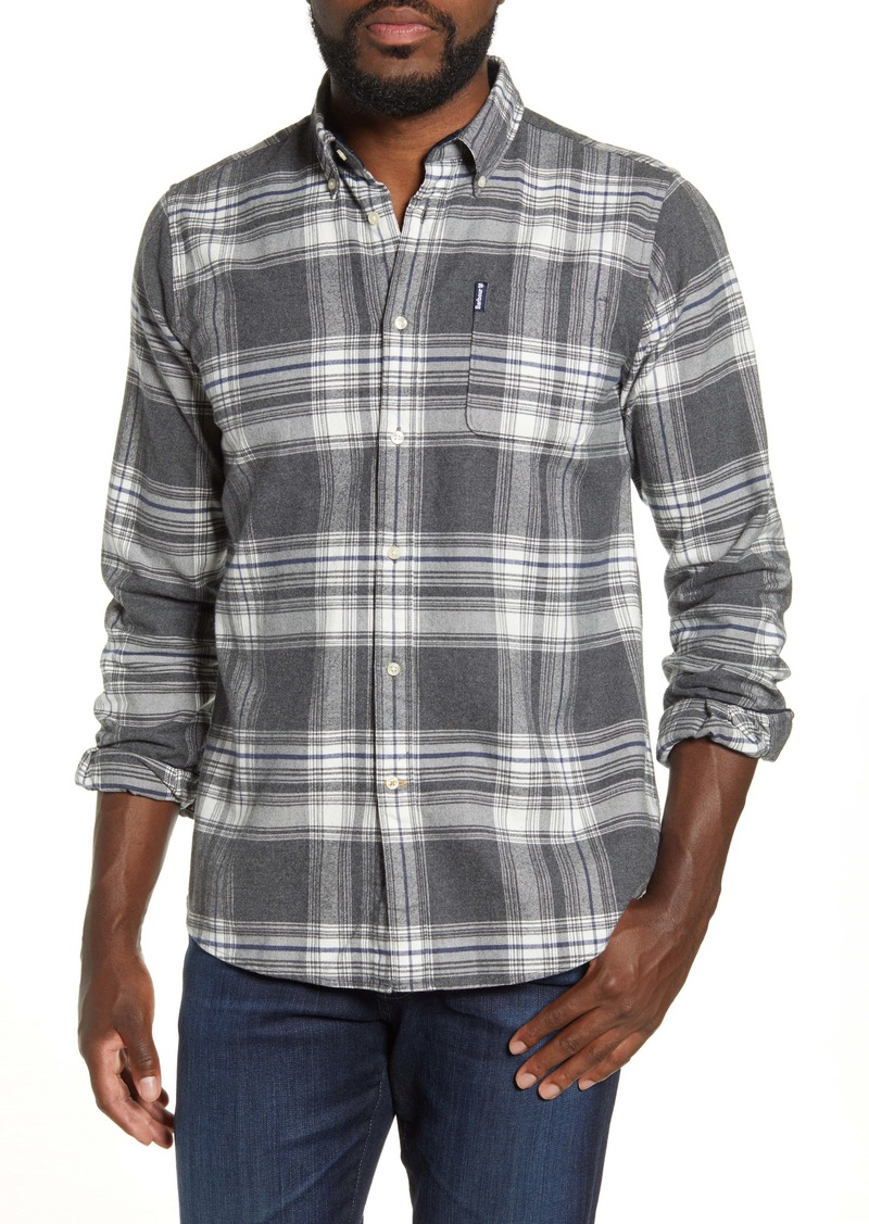 Barbour Tailored Fit Highland Check Button-Down Shirt