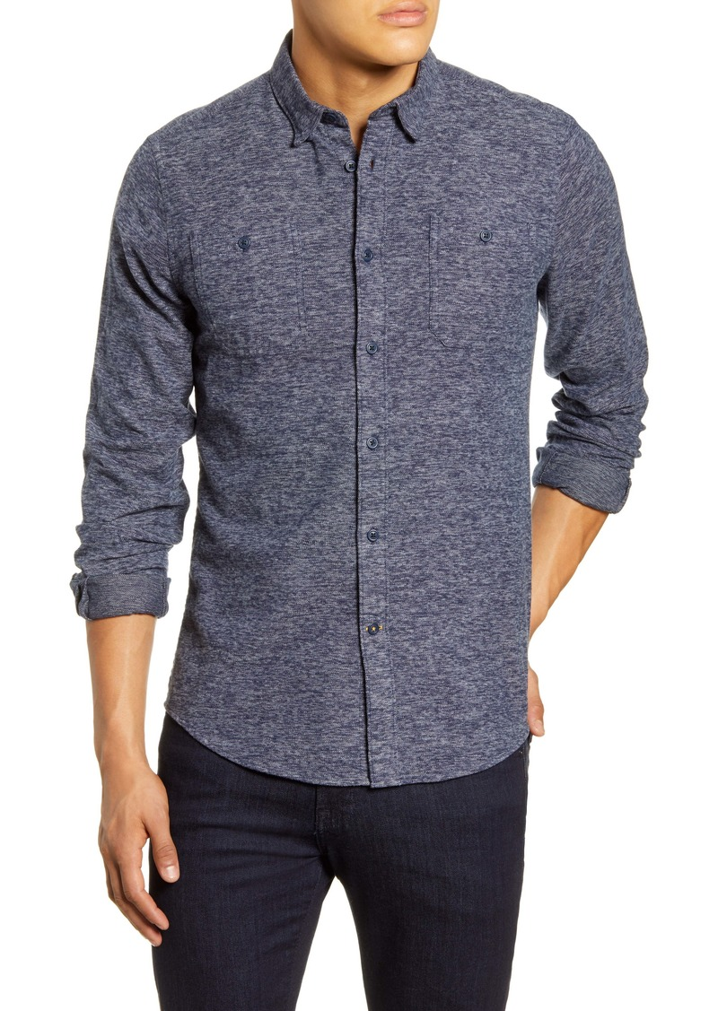 Barbour Tailored Fit Solid Button-Up Shirt