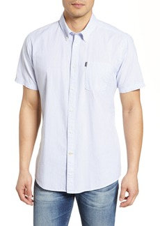 Barbour Tailored Slim Fit Seersucker Stripe Sport Shirt