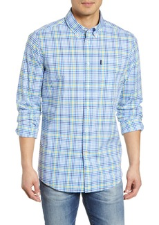 Barbour Tailored Slim Fit Tattersall Check Sport Shirt
