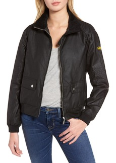 Barbour Tain Waxed Bomber Jacket