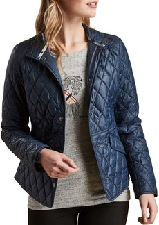 Barbour Tartan Annis Quilted Jacket