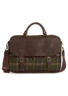 Barbour Tartan Briefcase