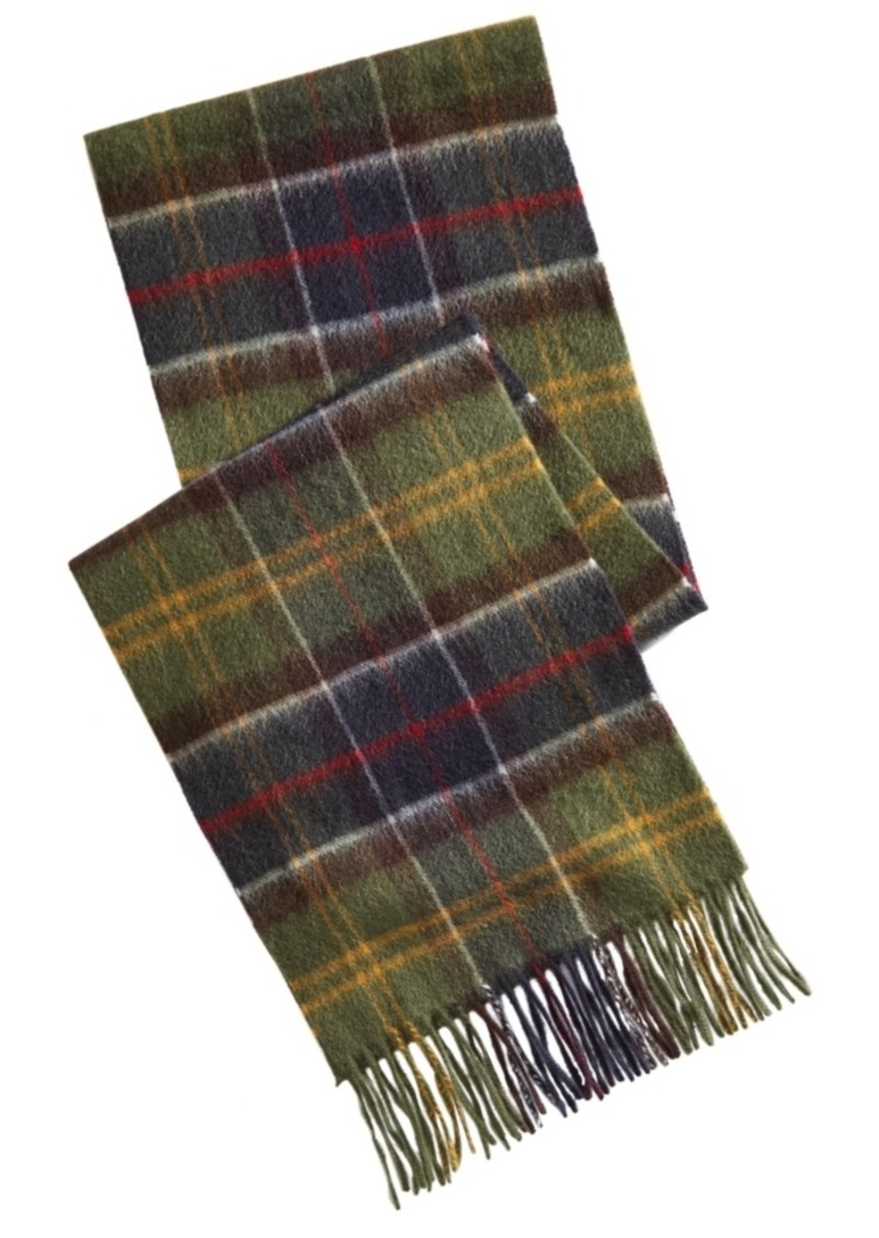 Barbour Tartan Plaid Scarf