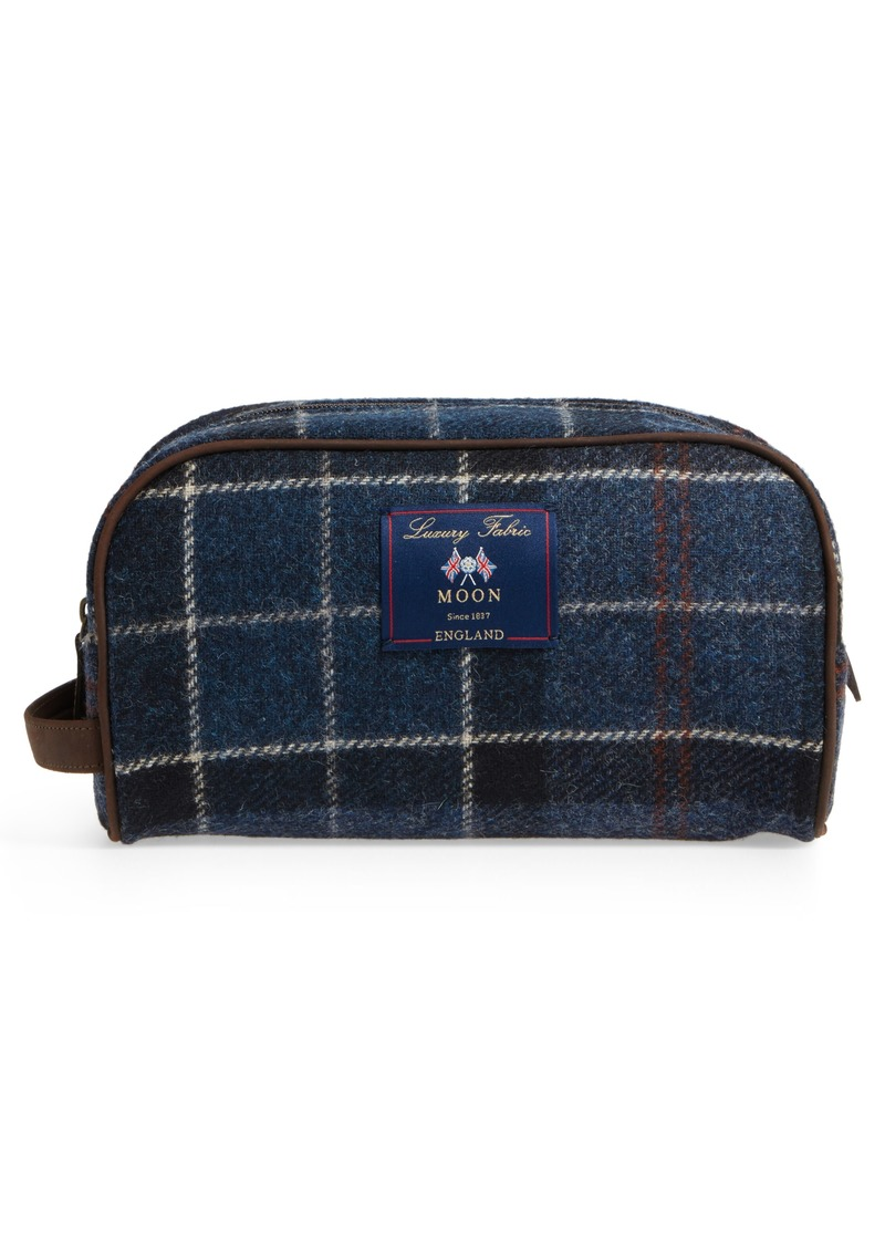 Barbour Tartan Dopp Kit