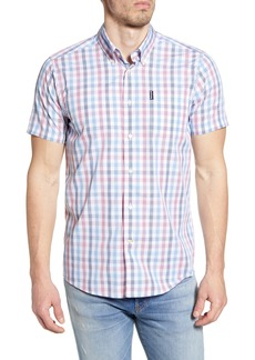 Barbour Tattersall 14 Short Sleeve Button-Down Shirt