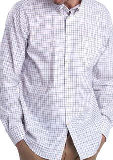Barbour Tattersall Check Performance Button-Down Shirt