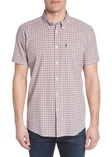 Barbour Taylor Regular Fit Check Short Sleeve Sport Shirt