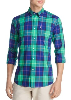 Barbour Toward Plaid Tailored Slim Fit Button-Down Shirt