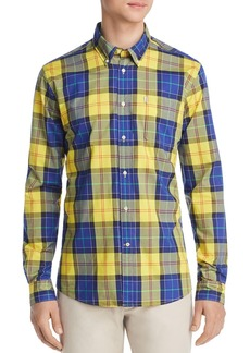Barbour Toward Plaid Tailored Slim Fit Button-Down Shirt
