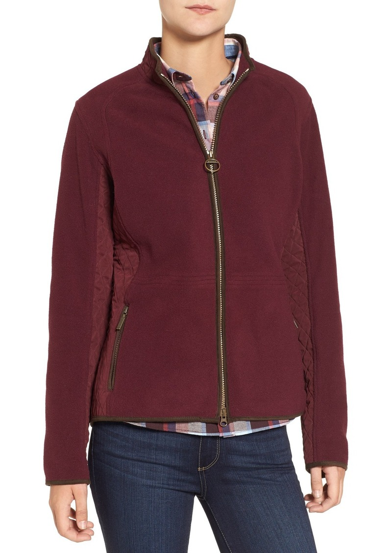 Barbour Barbour 'Triplebar' Quilted Fleece Jacket | Outerwear ...