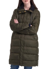 Barbour Weatheram Longline Puffer Coat