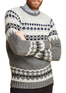 Barbour Wetheral Fair Isle Crewneck Regular Fit Sweater