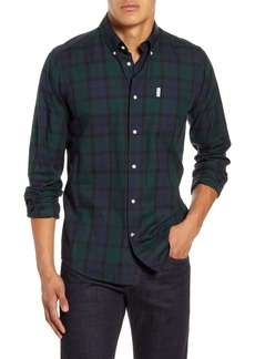 Barbour Wetheram Tailored Fit Plaid Button-Down Shirt