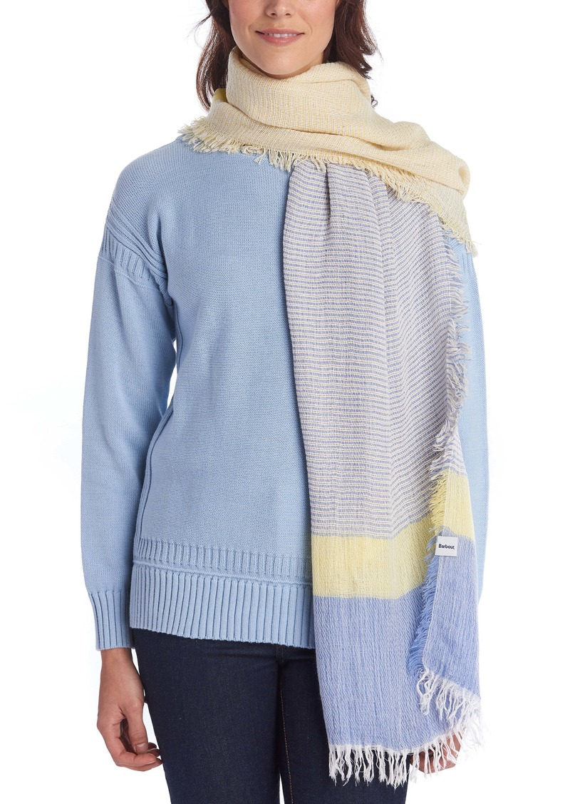 Barbour Whitmore Stripe Scarf
