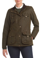 Barbour Winter Defense Waxed Water Resistant Utility Jacket