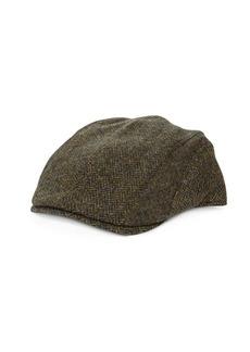 Barbour Woolen Paneled Cap