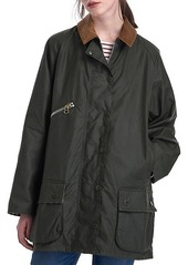 Barbour x Alexa Chung Edith Waxed Cotton Jacket