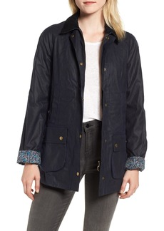 Barbour x Liberty Abbey Waxed Cotton Jacket (Nordstrom Exclusive)