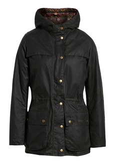 Barbour x Liberty Blaise Hooded Waxed Jacket (Nordstrom Exclusive)
