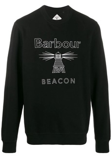 Barbour beacon embroidered sweatshirt