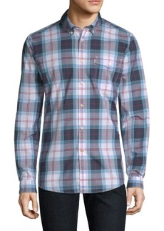 Barbour Cabin Tailored-Fit Plaid Button-Down Shirt