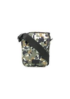 Barbour camouflage print shoulder bag