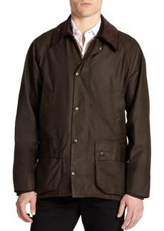 Barbour Corduroy Collar Waxed Jacket