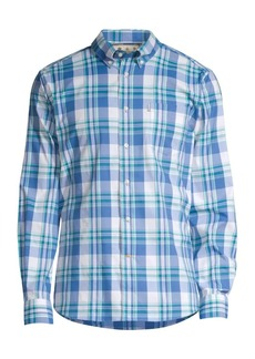 Barbour Country Plaid Button-Down Shirt