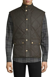 Barbour Countrywear Wax Lowerdale Quilted Vest