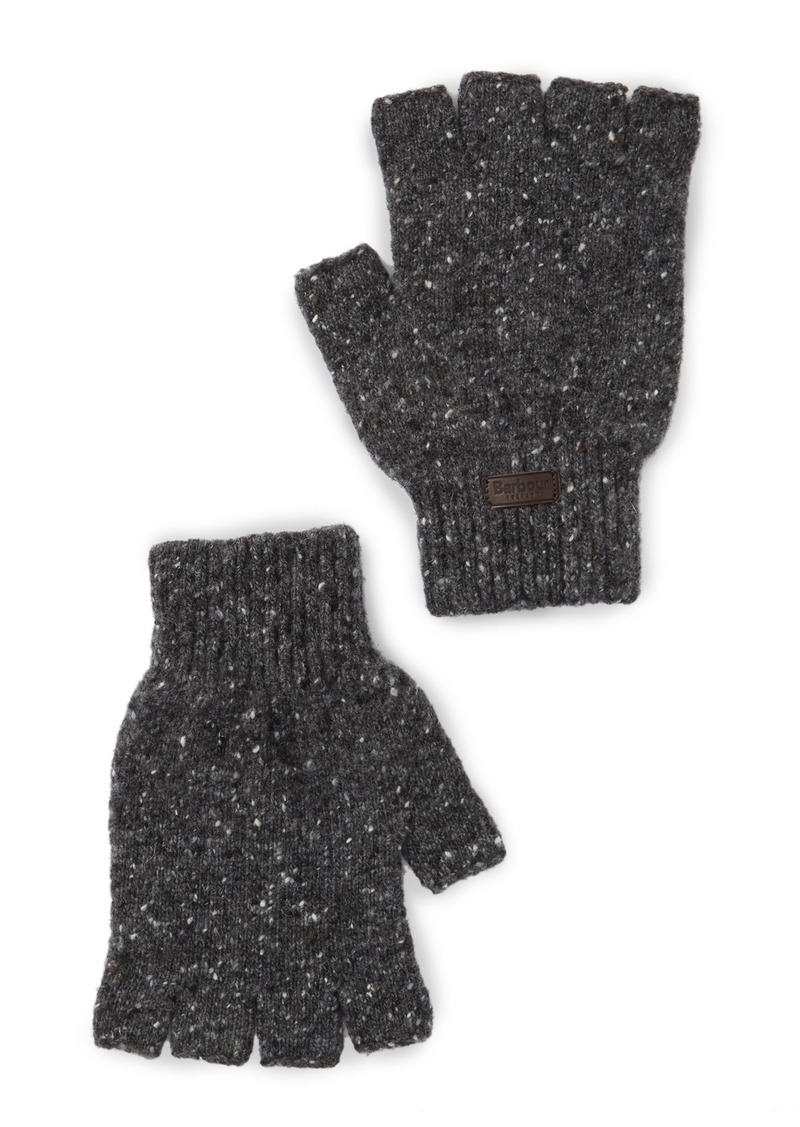 Barbour Donegal Fingerless Knit Gloves