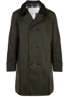 Barbour double breasted coat