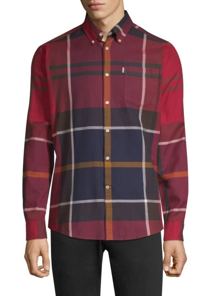 Barbour Dunoon Plaid-Print Shirt