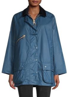 Barbour Edith Waxed Rain Jacket