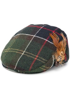 Barbour feather paperboy cap