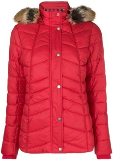 Barbour fur hood trim puffer jacket