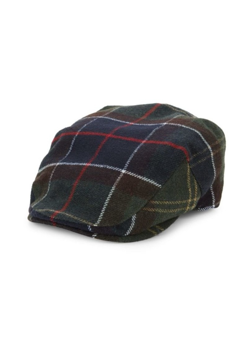 Barbour Galli Plaid Flat Cap
