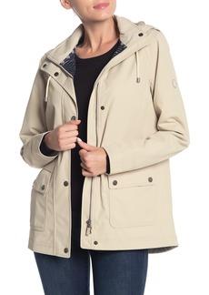 Barbour Hawkins Waterproof Zip Front Hooded Jacket