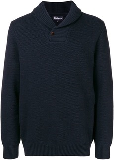 Barbour Honeycomb Shawl Neck jumper
