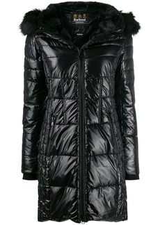 Barbour hooded padded coat