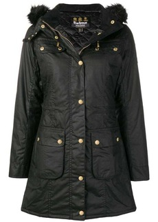 Barbour hooded parka