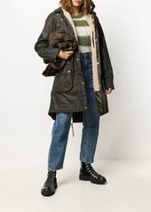 Barbour hooded parka coat