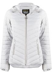Barbour hooded slim-fit puffer jacket