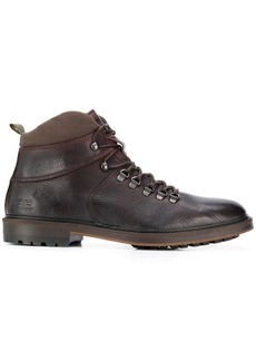 Barbour hook and eye ankle boots