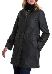 Barbour Icons Waxed Cotton Rain Jacket