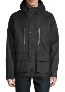 Barbour International Afton Waxed Cotton Jacket
