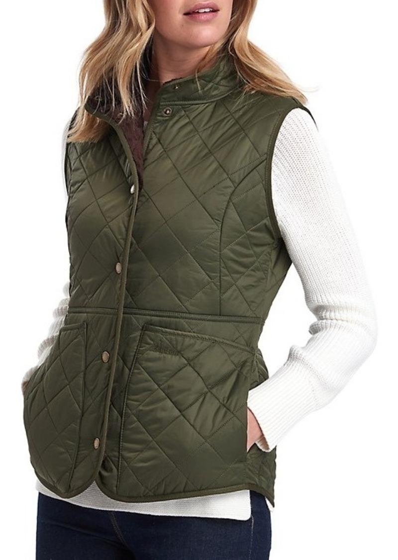 Barbour Jasmine Faux Fur-Lined Quilted Vest