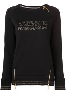 Barbour logo embroidered sweatshirt