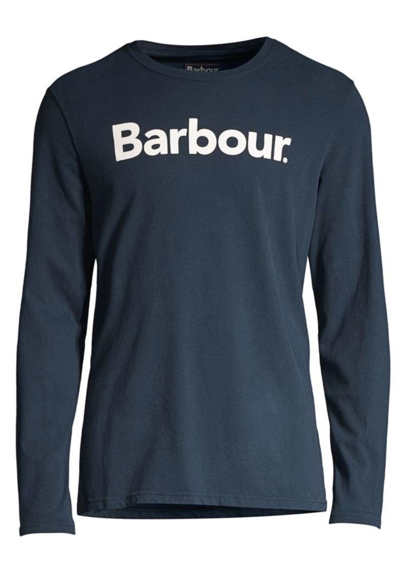 Barbour Long-Sleeve Logo Tee